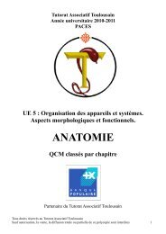 Poly Anatomie 10-11.pdf - Tutorat Associatif Toulousain