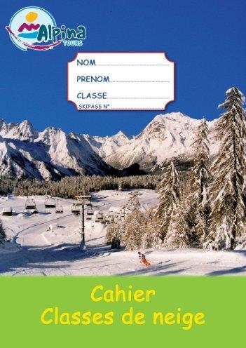 CAHIER pédagogique ALPINA