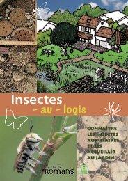 Livret Insectes - au - logis - Romans