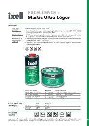 EXCELLENCE + Mastic Ultra Léger - Ixell.com