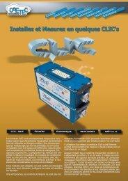 PDF Modules CLIC Concept - Axilane Instruments