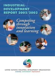 Industrial Development Report 2002/2003 - Unido