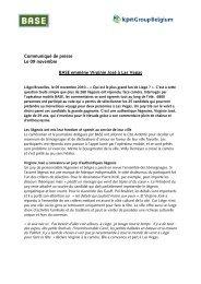 download press release - kpn Group Belgium