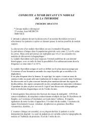 Conduite à Tenir devant un nodule thyroidien.pdf - Braccini