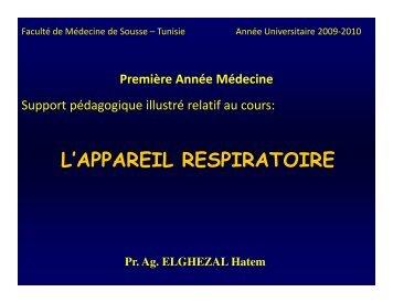 l'appareil respiratoire.pdf - Médecine et développement