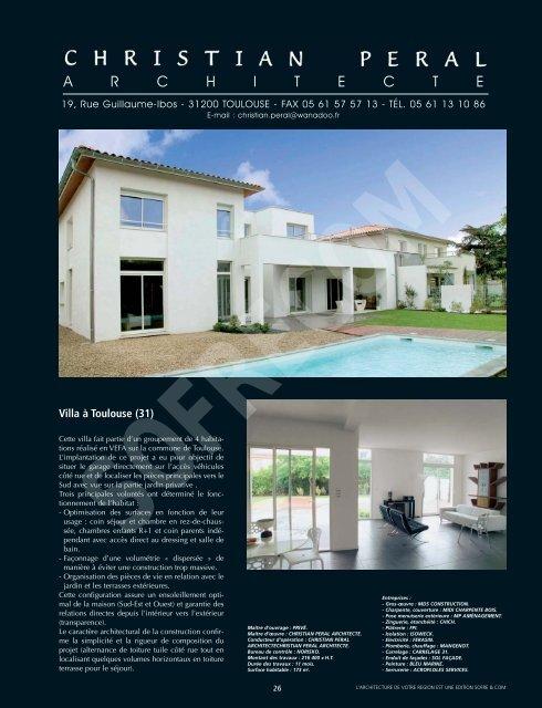 PERAL Christian Architecte - L'Architecture