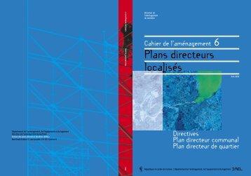Plans directeurs localisés - Etat de Genève