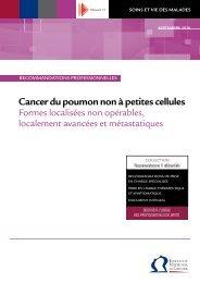 Cancer du poumon non à petites cellules - Formes localisées non ...