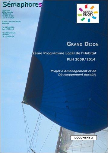 PADD - le Grand Dijon