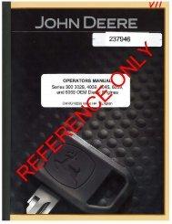 jd operators manual, series 300-3029-4039-4045 - Genie