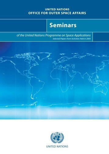 Seminars - United Nations Office for Outer Space Affairs