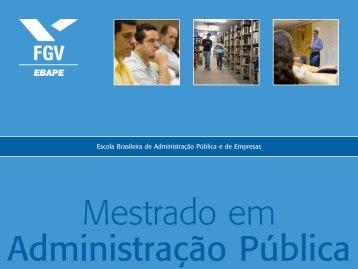Escola Brasileira de Administração Pública e de Empresas