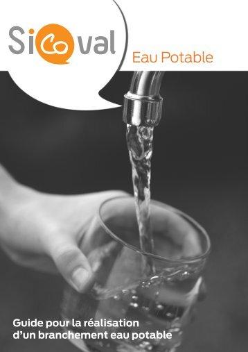 d'un branchement eau potable - Sicoval
