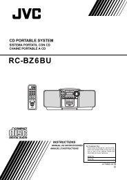 RC-BZ6BU - JVC