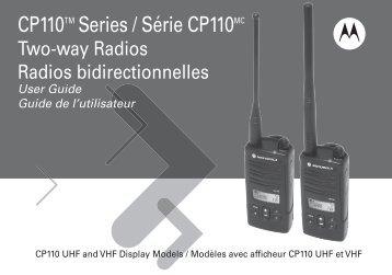 Série CP110 - Warehouse Radio, Inc.