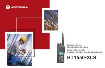 HT1550XLS FR - Motorola Solutions