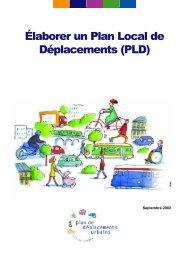 Élaborer un Plan Local de Déplacements (PLD) - STIF