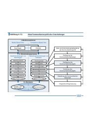 Abbildung 4-112: Ablauf kommunikationspolitischer Entscheidungen
