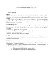 Supuratiile bronho-pulmonare - Spitalul Clinic Municipal de Urgenta ...