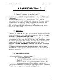 LA PNEUMONECTOMIE - CHU Montpellier