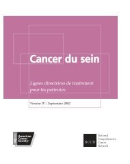 Cancer du sein - The Healthcare Association of New York State