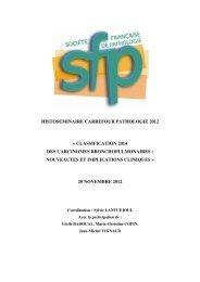 pathologie bronchopulmonaire