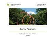 Vortrag Gamma-Astronomie