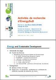 3.6 - Portail de l'énergie en Région wallonne