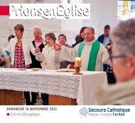 Télécharger le livret liturgique Prions en Eglise - Secours Catholique