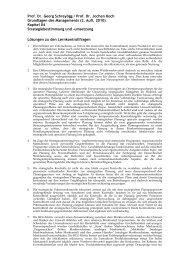 Lösungen zu den Lernkontrollfragen aus Kapitel 4