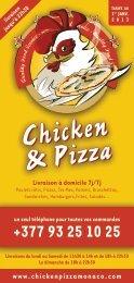 Chicken & Pizza Chicken & Pizza