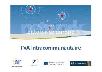 TVA Intracommunautaire - EasyTrade2EU