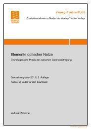 Elemente optischer Netze