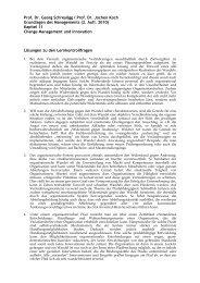 Lösungen zu den Lernkontrollfragen aus Kapitel 11