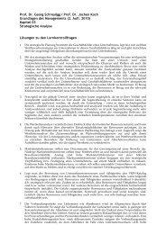 Lösungen zu den Lernkontrollfragen aus Kapitel 3