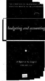 PL 81-784 Budgeting and Accounting: a Report to the Congress - FTP