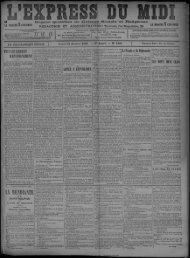 31 Janvier 1898 - Bibliothèque de Toulouse