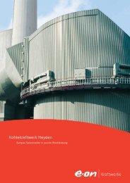 Kohlekraftwerk Heyden - E.ON - Strom und Gas - Info-Service