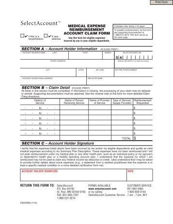 Fsafeds Dependent Care Reimbursement Form | Free Here