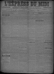 24 Décembre 1906 - Bibliothèque de Toulouse