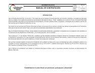MANUAL DE CONTRATACION - Contraloría Municipal de Neiva