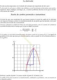 C·lculo Diferencial - MATEMATICAS EJERCICIOS RESUELTOS