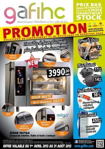 Télécharger la Brochure promotionnelle en PDF