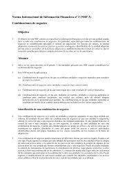 NIIF 3 - Normas Internacionales de Contabilidad
