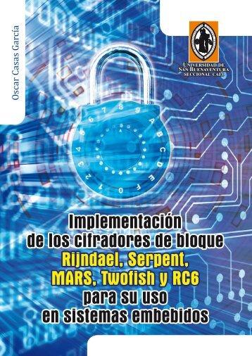 Cifradores de bloque - Biblioteca Digital - Universidad de San ...
