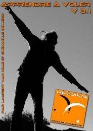 16. Le plan de vol en pente école - Les Choucas