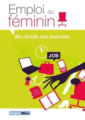 E-book emploi au feminin - RegionsJob