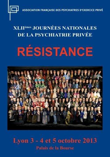 télécharger le programme au format pdf - Présentation de l'AFPEP ...