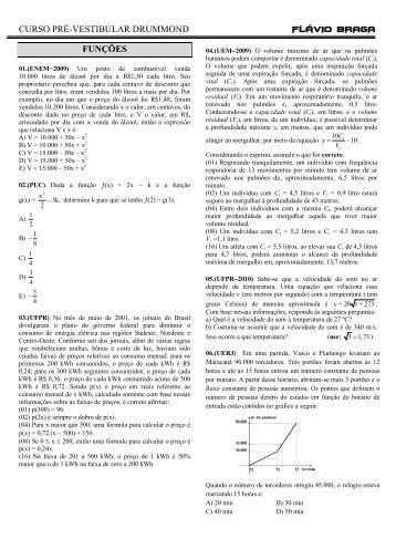 REVISÃO - 3º ANO - Colegiodrummond.net