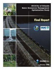 OUC/City of Orlando Water Resources Management Optimization ...